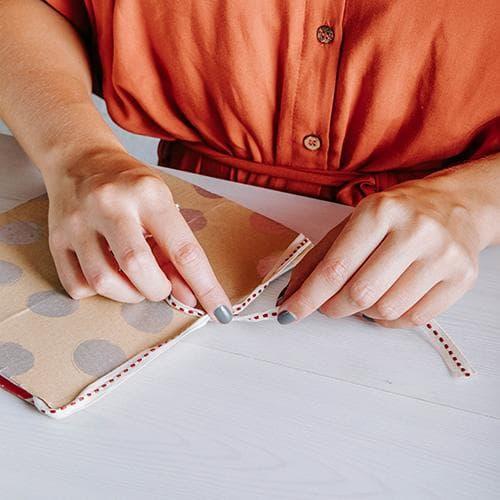 DIY Notizbuch Anleitung